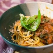 collards pasta sauce