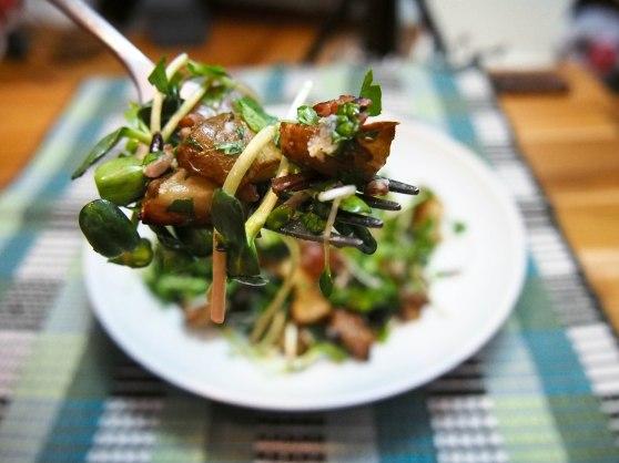 sunchoke salad-7