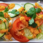 rice noodle salad w carrot dressing-6