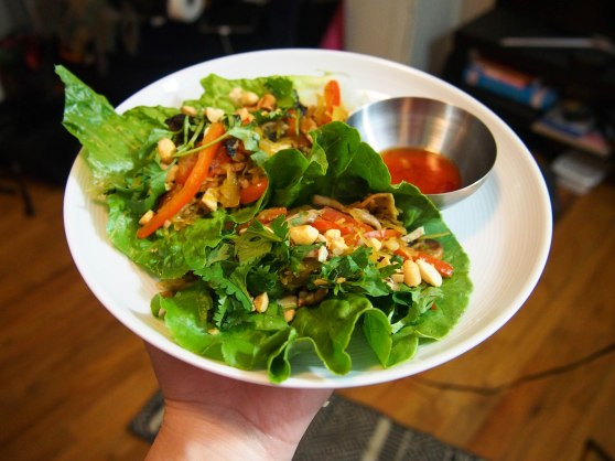 spag squash lettuce wraps-5